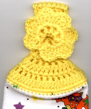 Free Crochet Pattern For Hand Towel Topper : EASY CROCHET TOWEL TOPPER PATTERN CROCHET PATTERNS